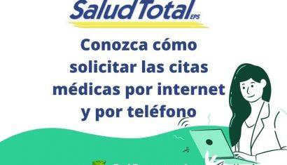 Salud Total EPS: Citas y autorizaciones por Internet
