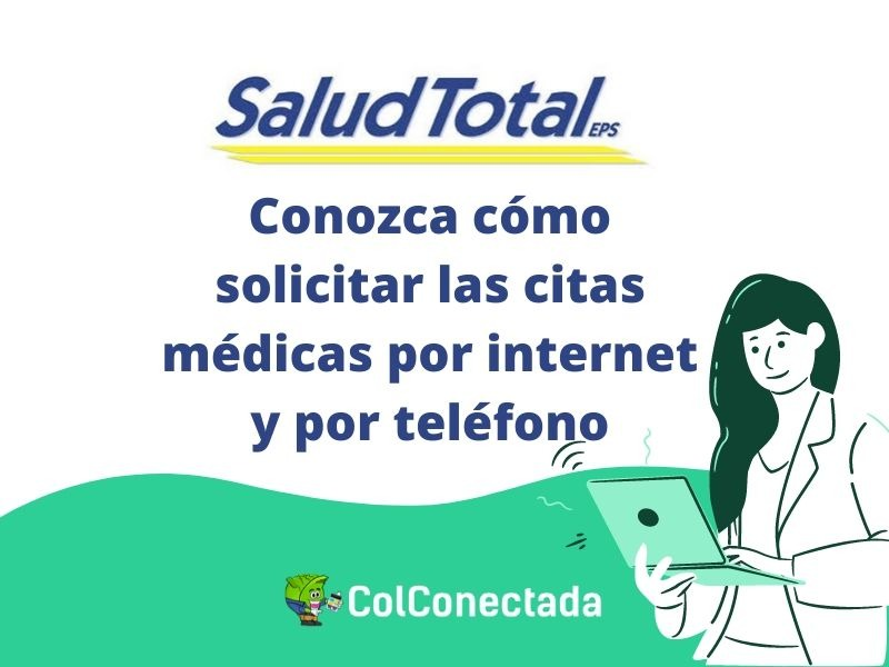 Salud Total EPS: Citas y autorizaciones por Internet 1