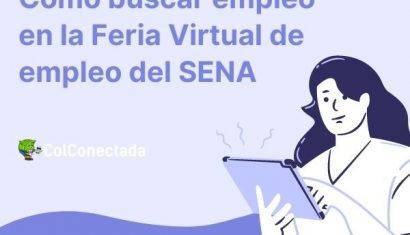 ExpoEmpleo: Feria Virtual de empleo del SENA con 20 mil vacantes