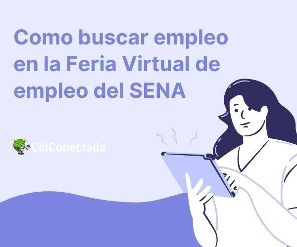 Feria virtual de empleo del Sena
