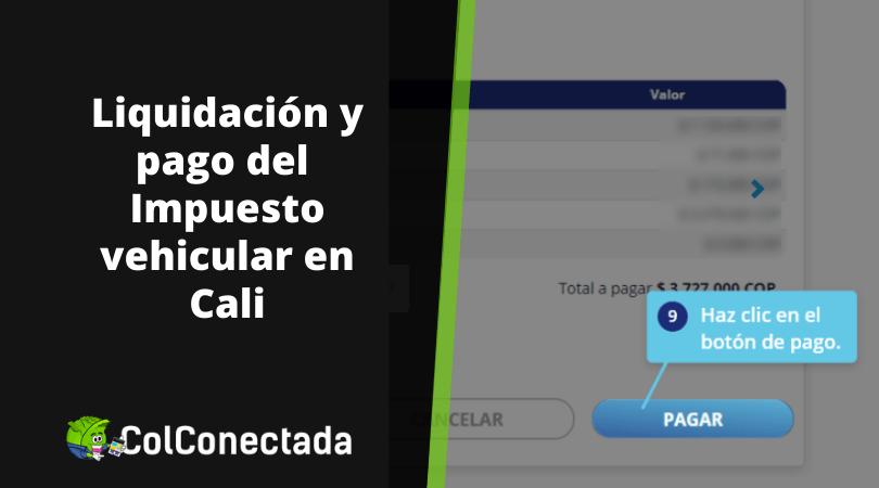 Impuesto vehículos Cali - Valle del Cauca para el 2021 13