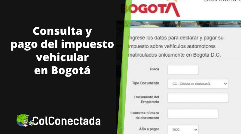 Impuesto de vehículos en Bogotá 2021 6