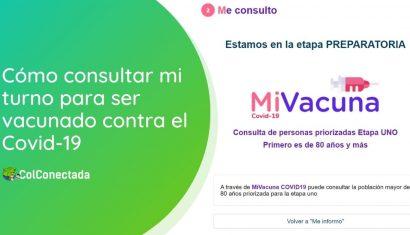 Mi Vacuna: Cómo consultar cuándo será vacunado contra el Covid-19